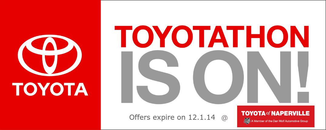 November Toyotathon deals in Naperville, IL